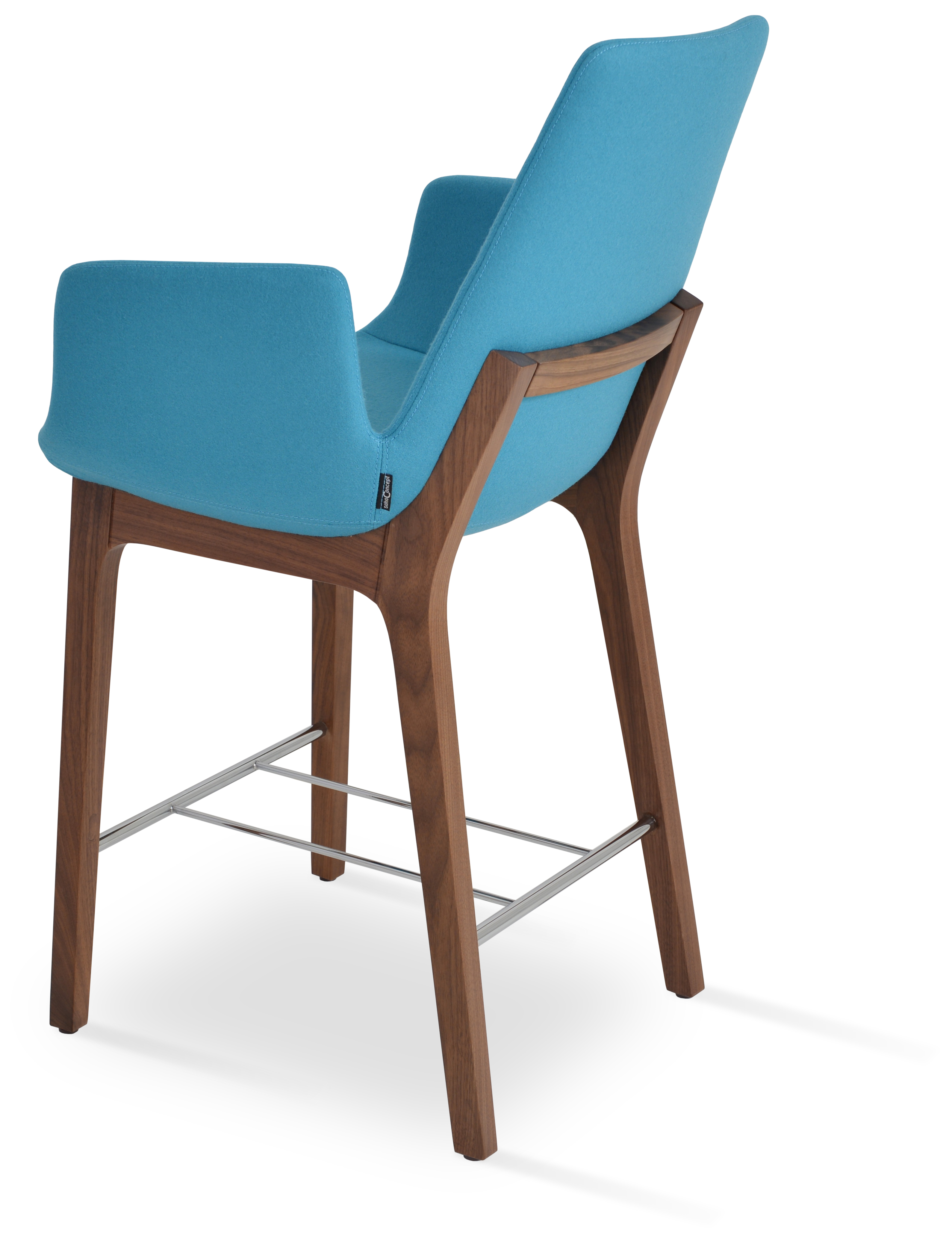 Cover For Bar Stool With Backrest